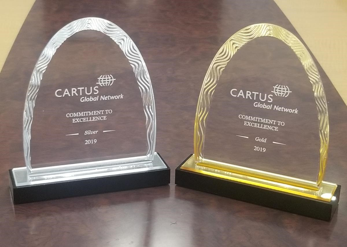 William B. Meyer, Inc. Recognized at 2019 Cartus Global Network Conference