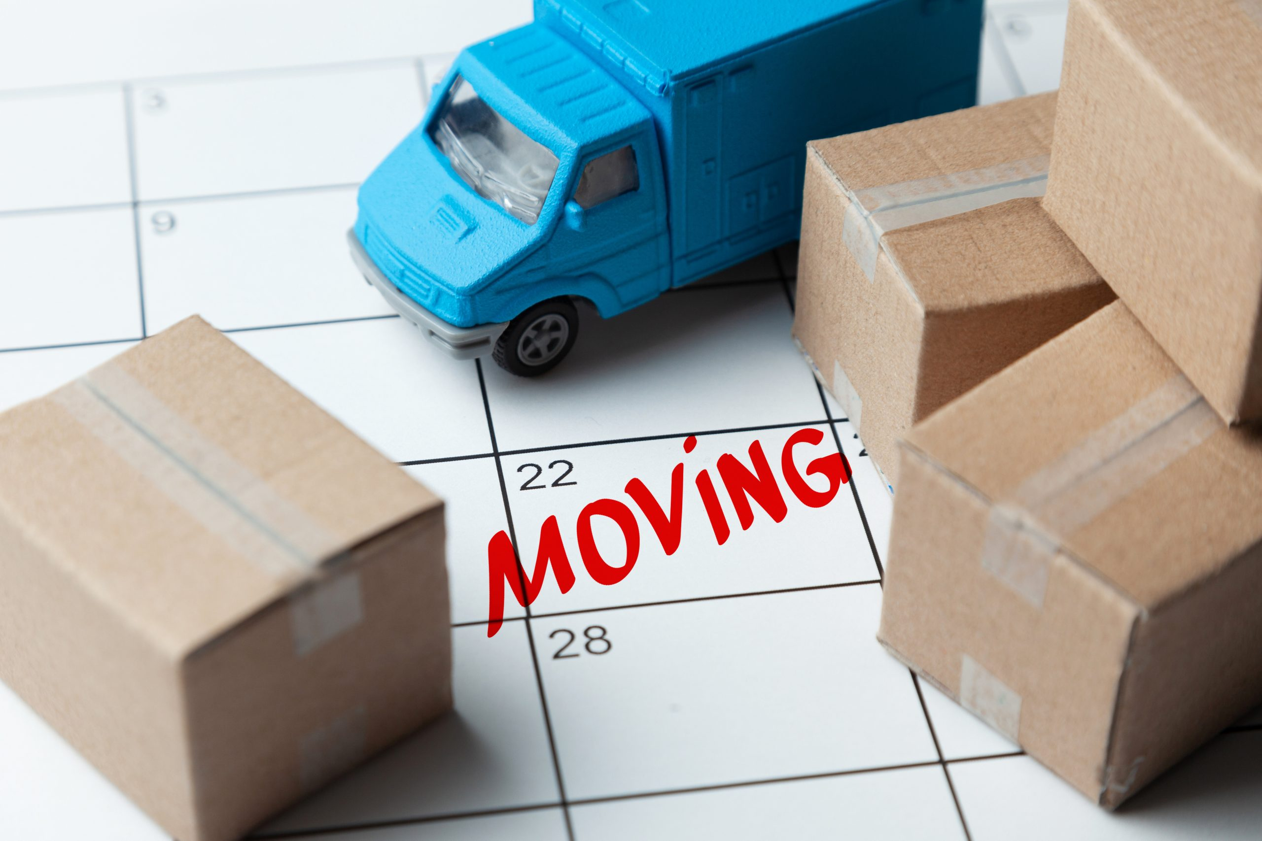 Moving? What You Need To Do Starting a Month From The Big Day